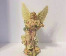 FEMALE GIRL ANGEL FIGURINE HOLIDAY ANY DAY DECOR PRE-OWNED EX CONDITION
