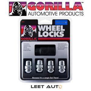 Gorilla Wheel Locks, Honda Acura Radius/Ball Seat, Chrome, 12mm x 1.50 38431XL