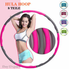 Hula Hoop!8 Teile 1.2KG Reifen Fitness Schaumstoff Bauchtrainer READ DESCRIPTION