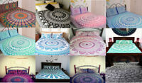 Indian Mandala Bedding Bed Cover Hippie Bohemian Queen Size Tapestry Hanging New