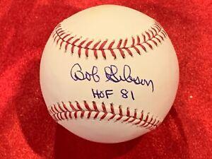 Bob Gibson Signed Official Major League Selig Baseball w/ JSA COA Card & Sticker