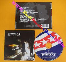 CD THROAT Knievel Is Evil 2002 Uk RIVERMAN RECORDS RMR08CD no lp mc dvd (CS5)