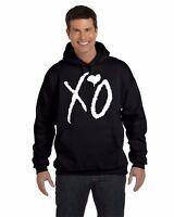 The Weeknd XO Hoodie Sweatshirt XO Tour OVOXO Weeknd Hooded Sweatshirt
