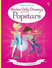 Sticker Dolly Dressing Popstars by Lucy Bowman 9781474920551 | Brand New
