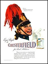 1940 Marion Hutton photo Chesterfield cigarettes vintage Print Ad  adL26