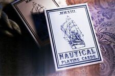 NAUTICAL BLUE DECK OF PLAYING CARDS BY HOUSE OF PLAYING CARDS MAGIC TRICKS