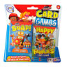 Children's Card Games - Pack of 2 - Zoo Escape & Fish Or Snap and Happy Families