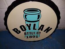 Boylan BOTTLg Co 1891 Round Advertise Sign