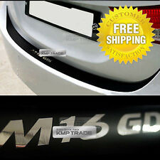 Rear Bumper Protecter Decal Stickers Black Chrome for Hyundai 11-16 Elantra MD