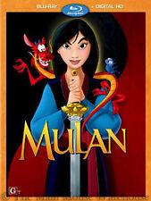Disney Ancient China Heroine Animated Comedy Mulan on Blu-ray & Digital Copy