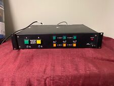 vintage rack mount Master Audio Select switch from radio station RACOMM