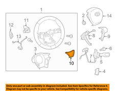 Scion TOYOTA OEM 11-16 tC Steering Wheel-Trim Cover 4511621020B0