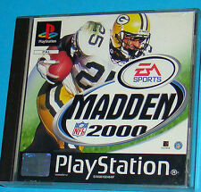 Madden 2000 - Sony Playstation - PS1 PSX - PAL