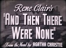 16mm Feature-RENE CLAIR'S AND THEN THERE WERE NONE-1945-NOIR-WALTER HUSTON