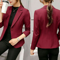 New Fashion Women Elegant Slim Casual Business Blazer Jacket Suit Coat Outwear