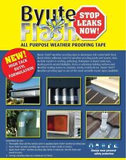 Byute Flash 200mm x 10M Weather Proofing  Downpipes Gutter Roofing Repair Tape