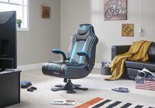 X-Rocker Genesis PlayStation Gaming Chair-Blue( No Base,No Arms,No Panel) -GO63.