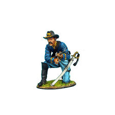 First Legion: ACW034 Union Dismounted Cavalry Trooper Kneeling Loading