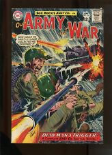 OUR ARMY AT WAR #141 (4.5) DEAD MAN'S TRIGGER!