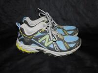 New Balance 7.5 B Blue Gray WT610 Trail Running Shoe Womens Sneakers EU 38