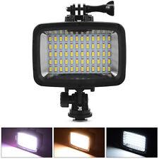 40m 60 LED Waterproof Diving Video Light Lighting Lamp for GoPro Hero 5 4 3 DSLR