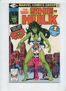 She Hulk #1 (1980) Origin and 1st Appearance High Grade VF 8.0