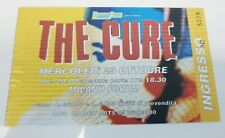 THE CURE WILD MOOD SWING TOUR MILAN TICKET 23/10/1996