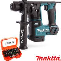 Makita DHR171Z 18V LXT Brushless SDS+ Rotary Hammer + 31pcs Screwdriver Bit Set