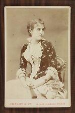 Jeanne Brindeau, Actrice Théâtre Cinéma Comédie-Française, Photo Cabinet card