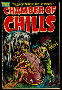 1953 Harvey Chamber of Chills #20 GD/VG