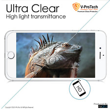 Genuine V-ProTech NUGLAS FOR APPLE IPHONE 7or 8 Plus CLEAR Tempered GLASS Protec