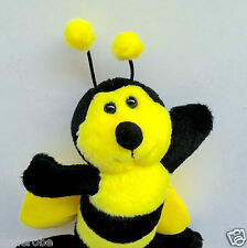 "SOFT & CHEERFUL HONEYBEE/BEE KEY CHAIN Colorful/Handy/Practical 4""x 5"" NWT L@@K!"