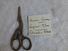 ancien petit ciseaux fantaisie broderie couture HERON Cigogne FRANCE  63  Thiers