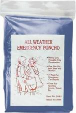 Rothco All Weather Emergency Poncho - 3681 Clear