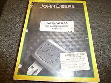 John Deere Model 9600 Maximizer Combine Parts Catalog Manual Book PC2181