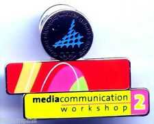 "2006 Torino Olympic ""MEDIA WORKSHOP #2"" Pin"