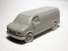 N-Scale (1/160 scale) Willmodels '96-'02 GMC Savana Van, Resin Kit
