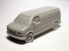 N-Scale (1/160 scale) Willmodels '96-'02 GMC Savana Van, Resin Kit