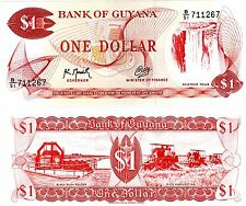 Guyane GUYANA Billet 1 $ Dollar 1992 P21 CHUTE NEUF UNC