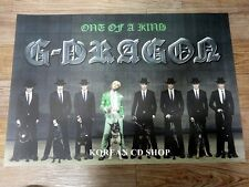 G-DRAGON 1ST MINI ALBUM ONE OF A KIND *Official POSTER * FOLDED POSTER