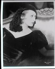 Joan Crawford Glamour Movie Portrait NEGATIVE 582s