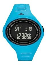ADIDAS ADIZERO Sport Unisex Digital Blue Chronograph Light Watch ADP6128 NEW!