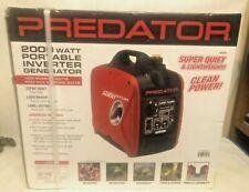 Predator Generator 62523 2,000W Super Quiet Portable Inverter Generator New