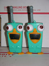 Perry Walkie Talkies Phineas And Ferb  Toy  Set Perry-Diculously Cool