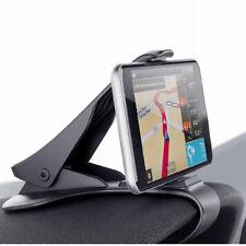 Universal 360° Coche Salpicadero Tablero Soporte Clip POR Teléfono Movil GPS PDA