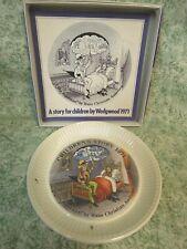 "Lc-785 Wedgwood Childrens Story Plate ""The Sandman"" - Andersen, 1971"
