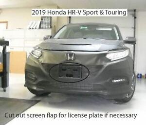 Lebra Front End Mask Cover Bra Fits HONDA HR-V HRV Sport & Touring X 2019-2021