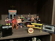 1991 Bill And Ted Figures With Telephone Booth Plus All Figures With Accessories