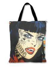 Liquor Brand Vampire Punk Tattoo Emo Goth Tote Bag Handbag Purse TOB-00109