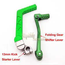 Green Gear Shifter Kick Start Starter Lever For BSE KAYO XR CRF 50 Pit Dirt Bike